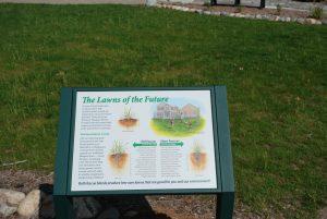 Alternative Turf Grass Sign