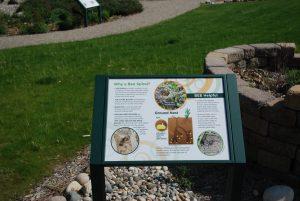 Bee Spiral Interpretive Signs