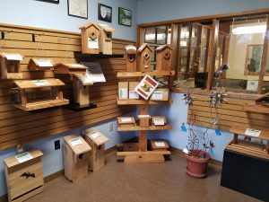 Stovall bird houses and feeders
