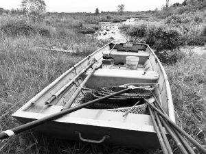 Row Boat in Sherrif's Marsh