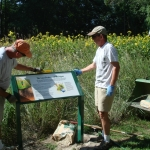 2012 - New interpretive signs are installed