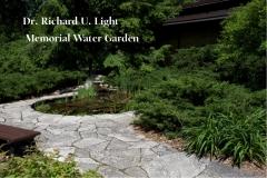 Dr. Richard U. Light Memorial Water Garden